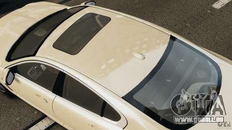 Jaguar XFR 2010 v2.0 für GTA 4 hinten links Ansicht
