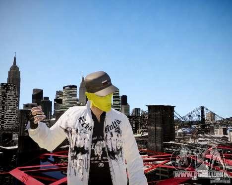 Niko The Mask für GTA 4 fünften Screenshot