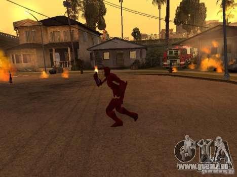 Iron Man pour GTA San Andreas troisième écran