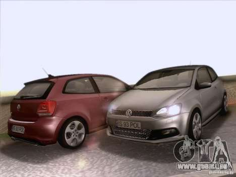 Volkswagen Polo GTI 2011 für GTA San Andreas