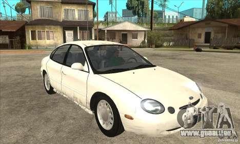 Ford Taurus 1996 pour GTA San Andreas vue arrière