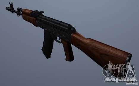 AKM pour GTA San Andreas deuxième écran