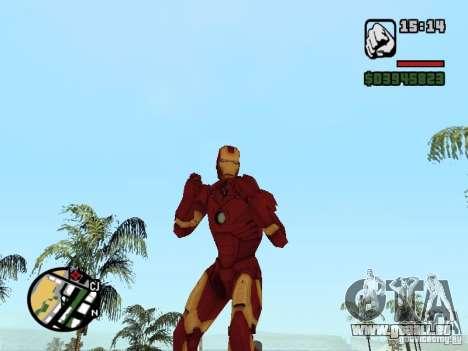 Iron man 2 pour GTA San Andreas deuxième écran