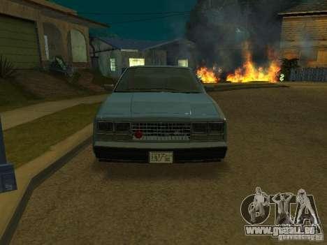 Les taxis romains de GTA4 pour GTA San Andreas vue de droite