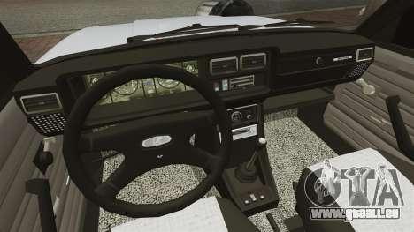 VAZ-2107 Mansory für GTA 4 Innenansicht