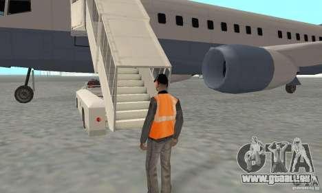 Airport Vehicle pour GTA San Andreas huitième écran