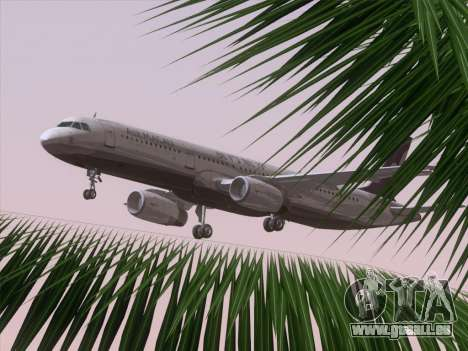 Airbus A321 Air Macau pour GTA San Andreas salon
