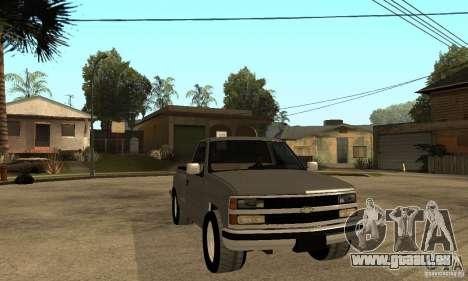 Chevrolet Silverado 1500 für GTA San Andreas rechten Ansicht