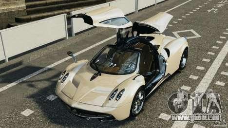 Pagani Huayra 2011 v1.0 [EPM] für GTA 4 Unteransicht