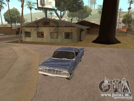 Chevrolet Biscayne 1959 pour GTA San Andreas vue de dessus