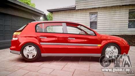 Opel Signum 1.9 CDTi 2005 pour GTA 4 Vue arrière