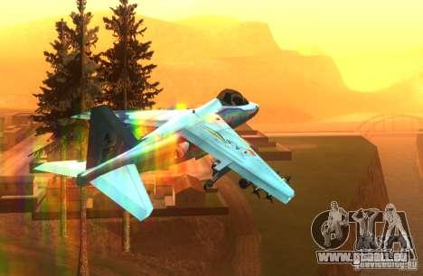 RainbowDash Hydra pour GTA San Andreas vue arrière