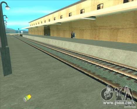 Les plates-formes élevées dans les gares pour GTA San Andreas septième écran