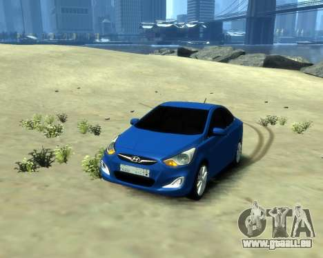 Hyundai Solaris Arab Edition für GTA 4