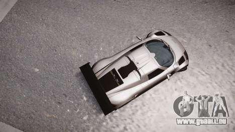 Gumpert Apollo Sport 2011 pour GTA 4 Vue arrière de la gauche
