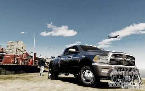 Dodge Ram 3500 Stock Final pour GTA 4 Vue arrière