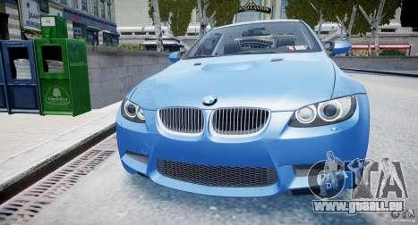 BMW M3 E92 2008 v.2.0 pour GTA 4 est un droit