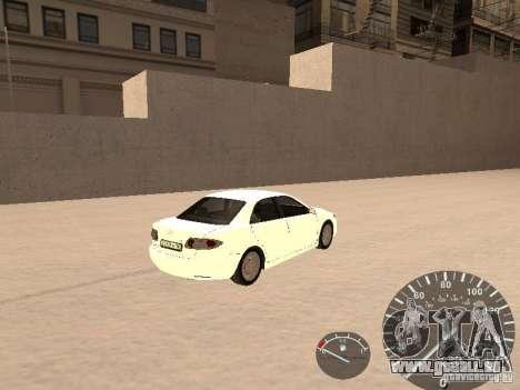 Mazda 6 2004 pour GTA San Andreas sur la vue arrière gauche