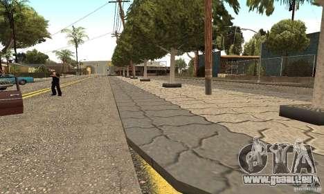 Grove Street 2012 V1.0 pour GTA San Andreas quatrième écran