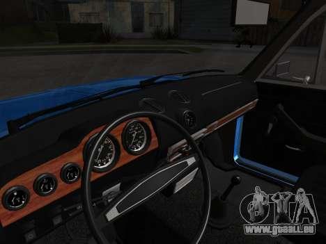 VAZ 2106 rétro V2 pour GTA San Andreas vue de côté