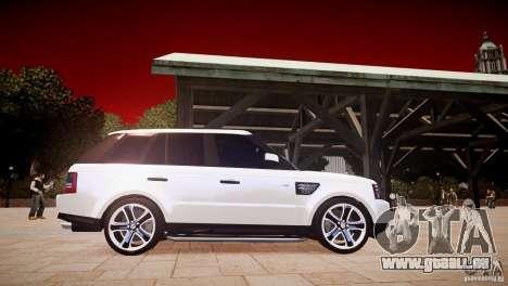 Range Rover Sport Supercharged v1.0 2010 pour GTA 4 est une vue de l'intérieur