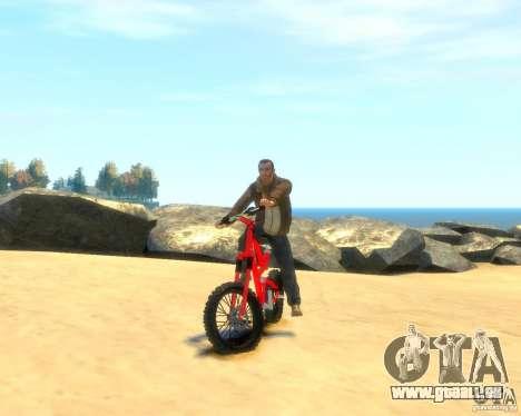 Mountain bike für GTA 4 rechte Ansicht