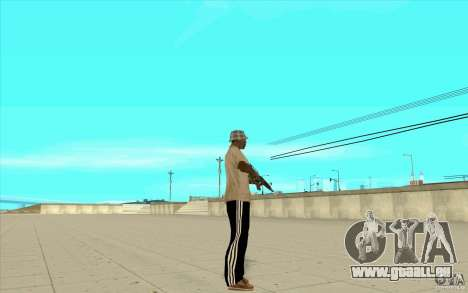 Pantalon adidas pour GTA San Andreas deuxième écran