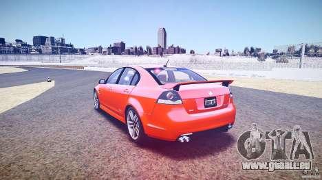 Holden Commodore SS (FBINOoSE) pour GTA 4 est un côté