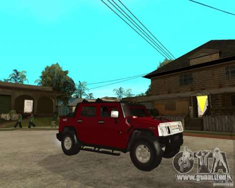 AMG H2 HUMMER SUT pour GTA San Andreas