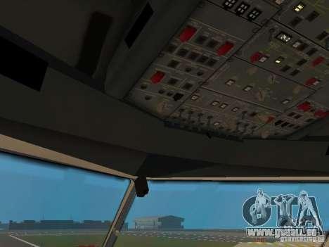 Airbus A330-300 Turkish Airlines pour GTA San Andreas vue de dessous