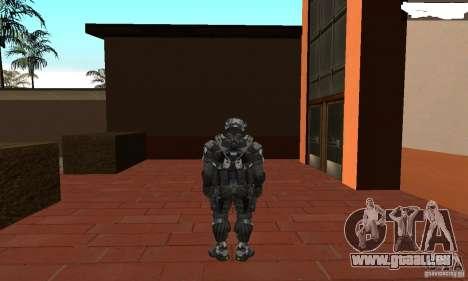 Crysis NanoSuit 2 pour GTA San Andreas troisième écran