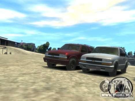 Chevrolet Blazer LS 2dr 4x4 pour GTA 4 est une gauche