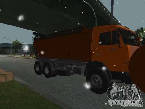 KAMAZ 53215 für GTA San Andreas Rückansicht