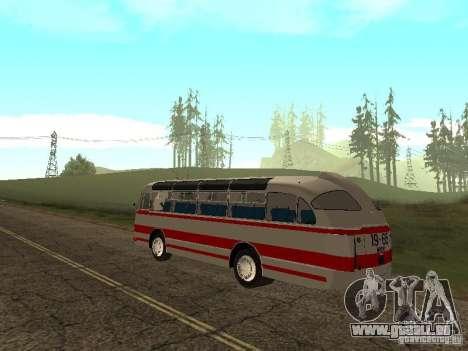 LAZ 697E touristique pour GTA San Andreas laissé vue