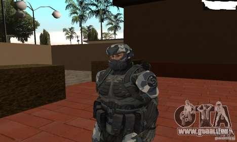 Crysis NanoSuit 2 pour GTA San Andreas