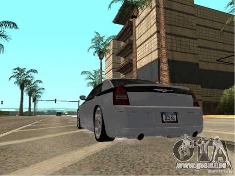 Chrysler 300 C pour GTA San Andreas laissé vue