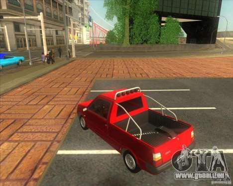 Serpuchowski Awtomobilny SAWOD Oka Pickup für GTA San Andreas linke Ansicht