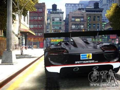 Porsche 918 Spider Body Kit Final pour GTA 4 Vue arrière de la gauche