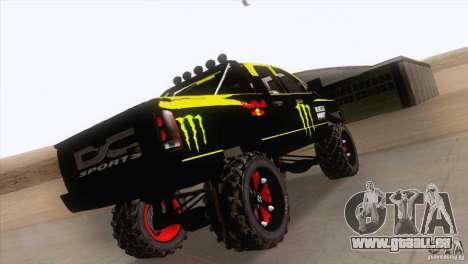Dodge Ram 4x4 pour GTA San Andreas vue de côté