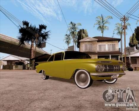 Chevrolet Impala 1959 pour GTA San Andreas vue de côté