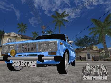 VAZ 2106 rétro V2 pour GTA San Andreas vue de droite