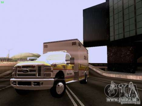 Ford F-350 Ambulance für GTA San Andreas