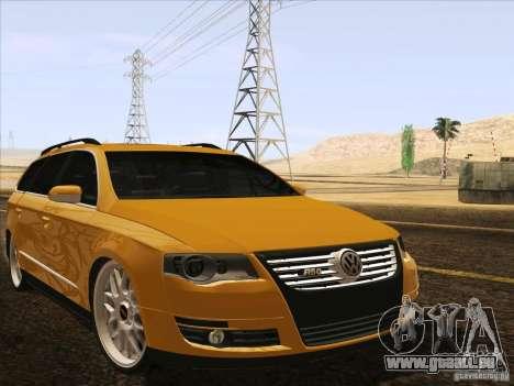 Volkswagen Passat B6 Variant pour GTA San Andreas moteur