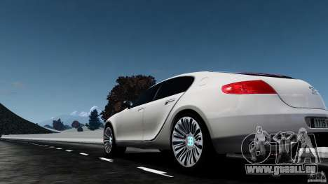 Bugatti Galibier 2009 pour GTA 4 Vue arrière de la gauche