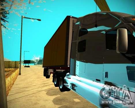 La remorque Krone samazināti pour GTA San Andreas sur la vue arrière gauche