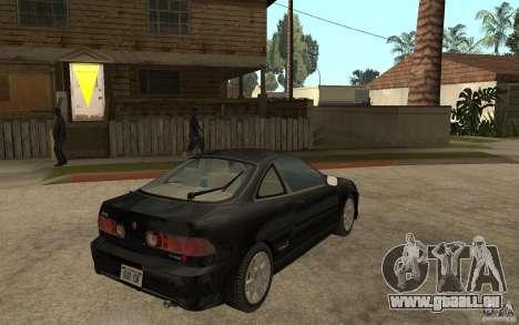 Acura Integra Type-R pour GTA San Andreas vue de droite