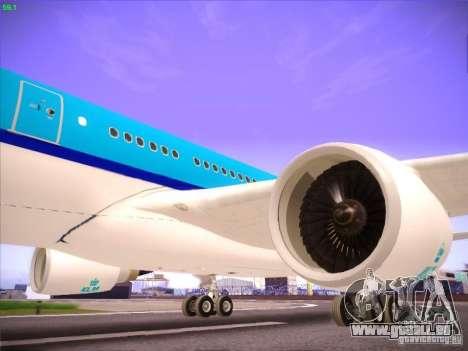 Airbus A330-200 KLM Royal Dutch Airlines pour GTA San Andreas vue de côté