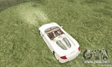 Porsche Carrera GT 2003 pour GTA San Andreas vue de droite