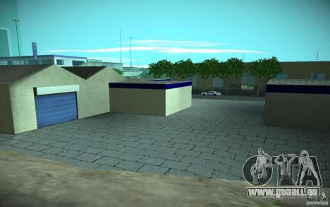 HD Garage in Doherty für GTA San Andreas sechsten Screenshot