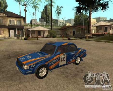 Volvo 242 Lightspeed Rally Edition für GTA San Andreas